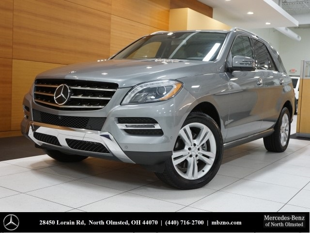 Certified Pre Owned 2014 Mercedes Benz M Class ML 350