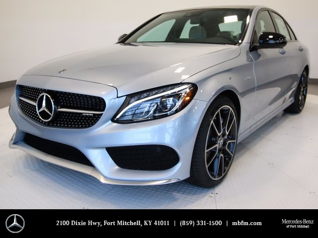New 2018 mercedes benz c class c43 amg 4d sedan in fort for Mercedes benz c43 amg lease
