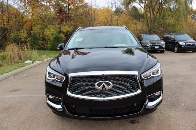 New 2017 Infiniti Qx60 Base 4d Sport Utility In Akron