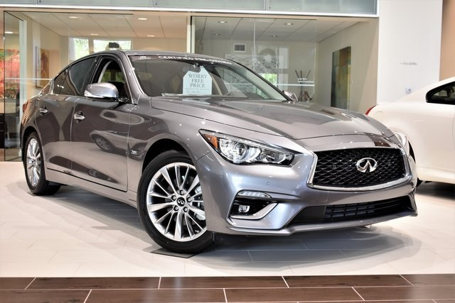 Pre Owned Infiniti Q50 >> Pre Owned 2018 Infiniti Q50 2 0t Luxe 4d Sedan In Coral Gables