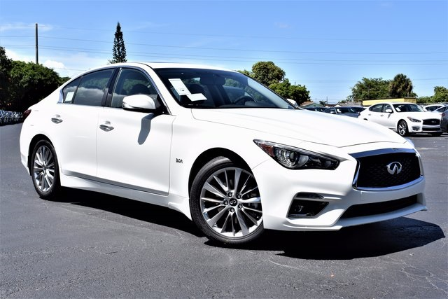 Mercedes Benz Lease >> New 2018 INFINITI Q50 3.0t LUXE 4D Sedan in Coral Gables #J353362 | Bernie Moreno Companies