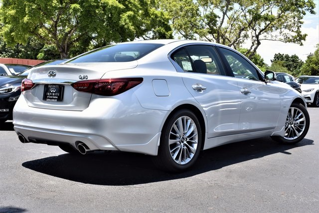 New 2018 Infiniti Q50 3 0t Luxe 4d Sedan In Coral Gables