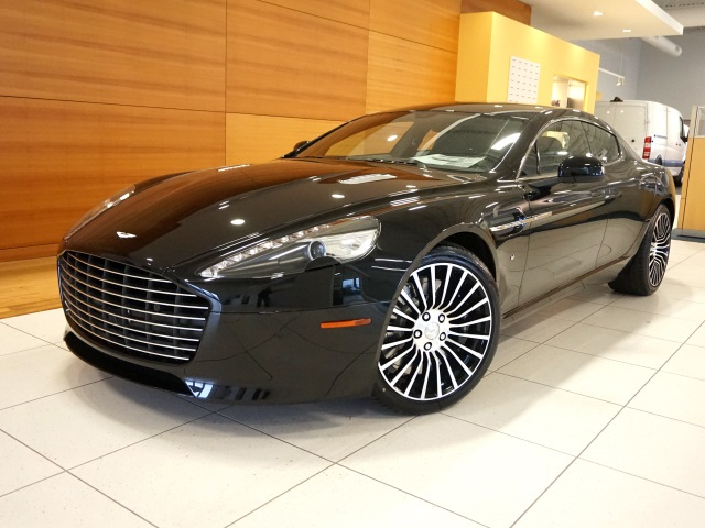 pre-owned 2017 aston martin rapide s 4d sedan in north olmsted