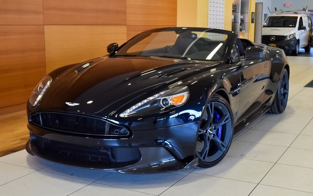 pre-owned 2018 aston martin vanquish s volante 2d convertible in