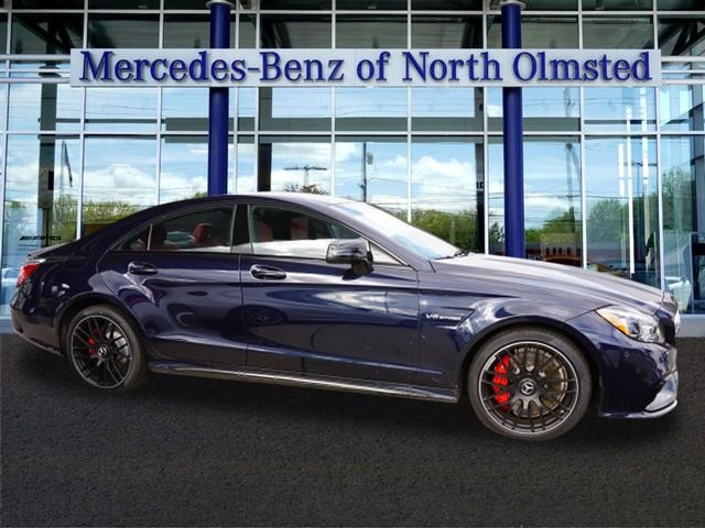 new 2018 mercedes benz cls cls 63 s amg coupe in north olmsted j205537 bernie moreno companies. Black Bedroom Furniture Sets. Home Design Ideas