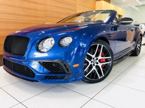 Pre-Owned 2018 Bentley Continental Supersports
